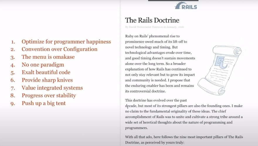 The Rails Doctrine
