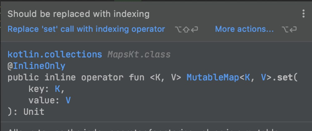 Cover image for Mastering Kotlin indexed access operator