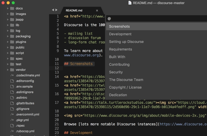 Markdown format in Sublime Text 3