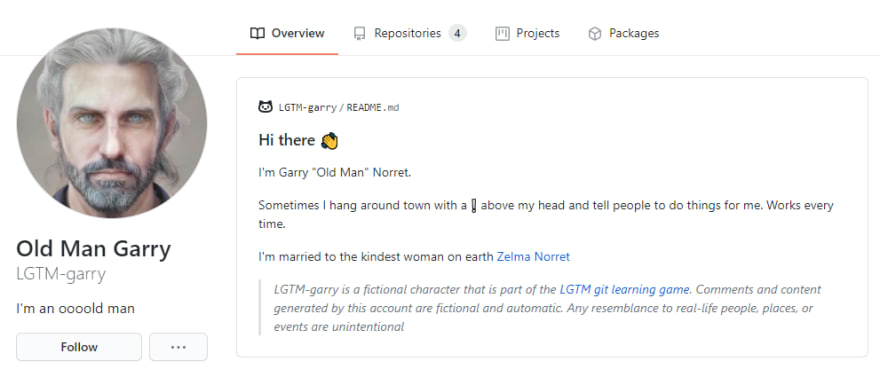 Garry's profile