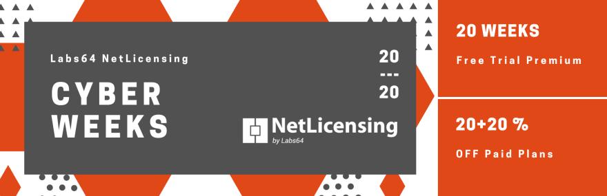 NetLicensing Cyber Weeks 2020