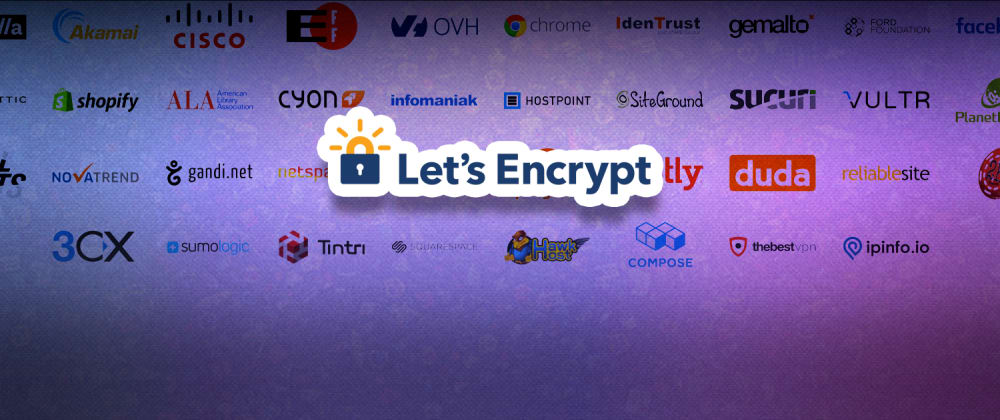 Cover image for Let's Encrypt with Let's Encrypt