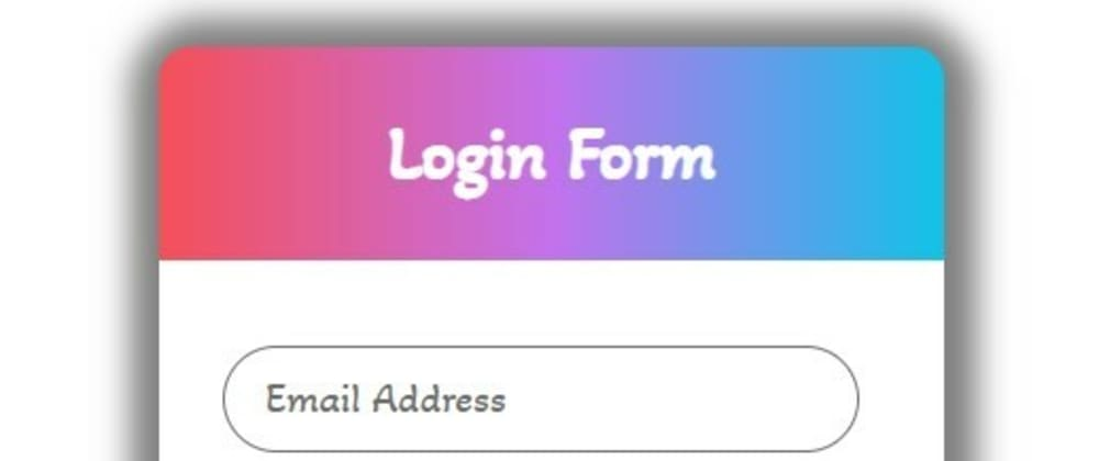 Cover image for Responsive login form using HTML and CSS