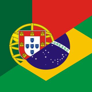 Textos em Português logo