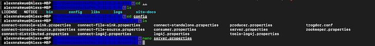 Configuring The Kafka Server