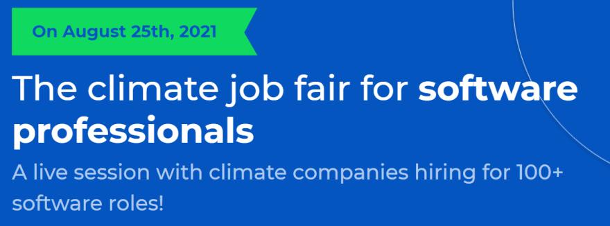 terra.do climate change job fair