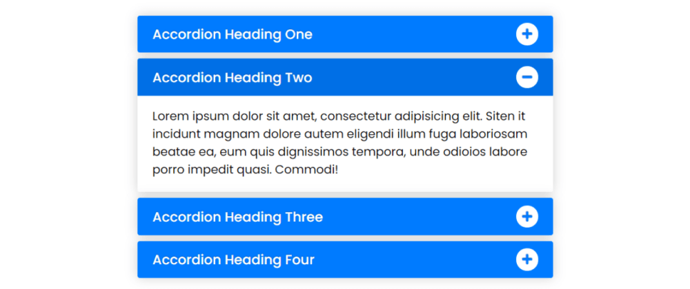 Cover image for Responsive Accordion Menu using only HTML & CSS