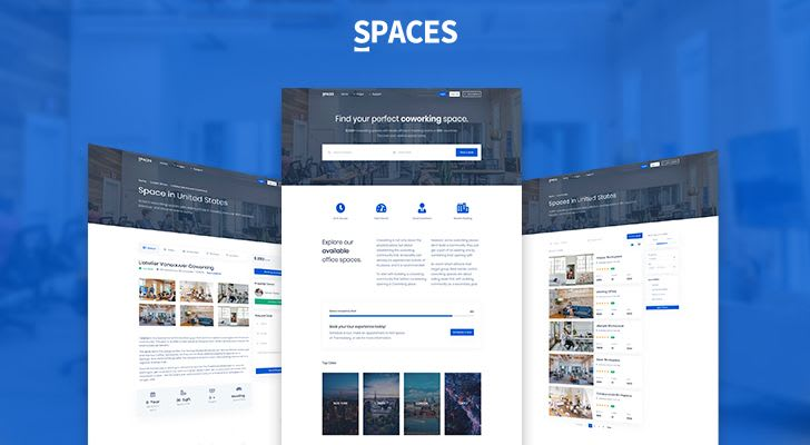 Spaces Coworking Template