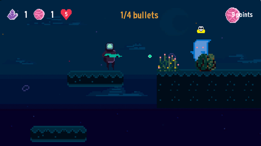 Space Walk gameplay