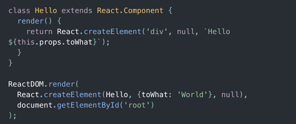 Cover image for React Without JSX