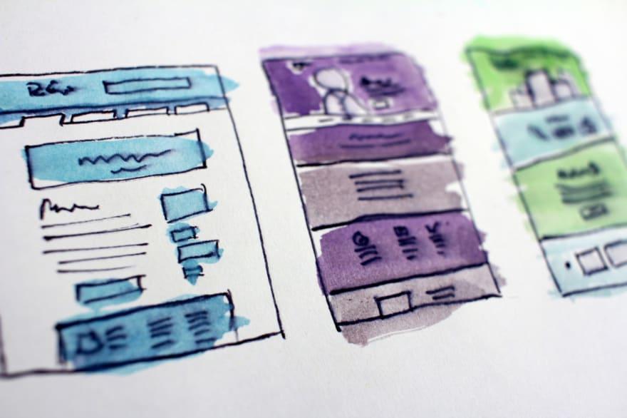 Low-fidelity Paper Prototype