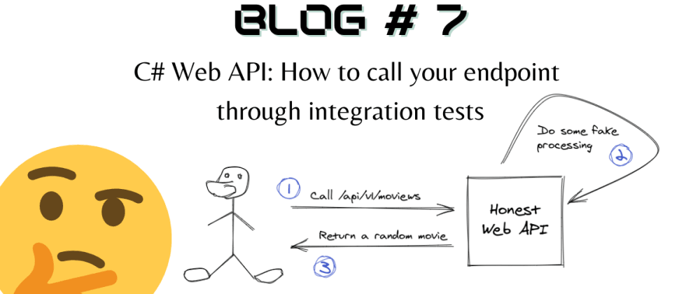 Cover image for C# Web API: How to call your endpoint through integration tests