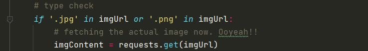 get image
