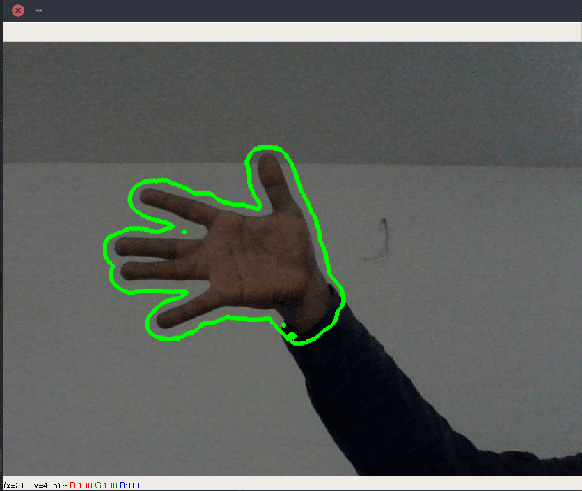 Finger Detection and Tracking using OpenCV and Python - DEV