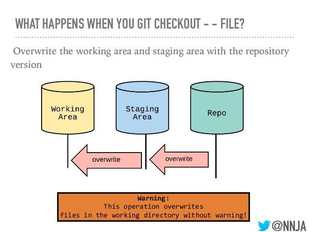git checkout file