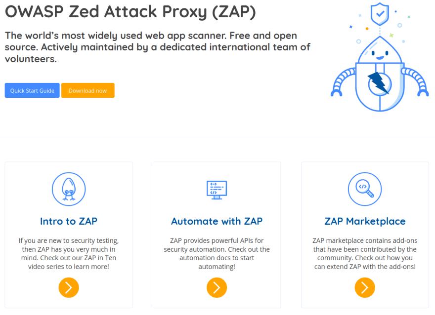 Zap Proxy