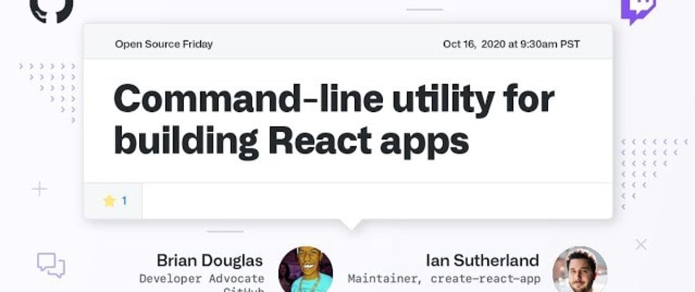 Cover image for The Command-line utility for building React got an update - Create React App 4 is released