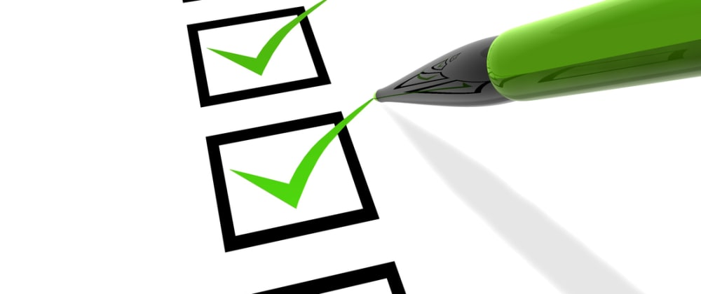 Cover image for Web Developer Security Checklist V1