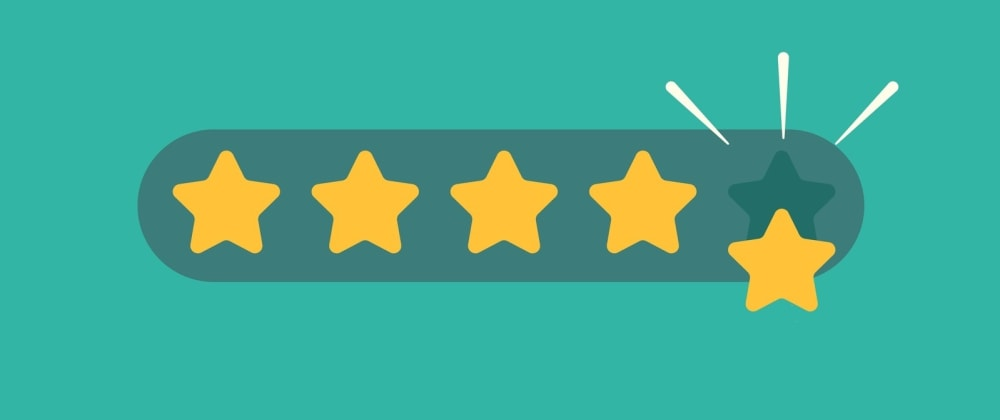 Cover image for Star rating with DotVVM and CSS