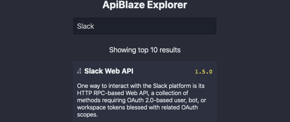Cover image for ApiBlaze: Designing the API Search Bar