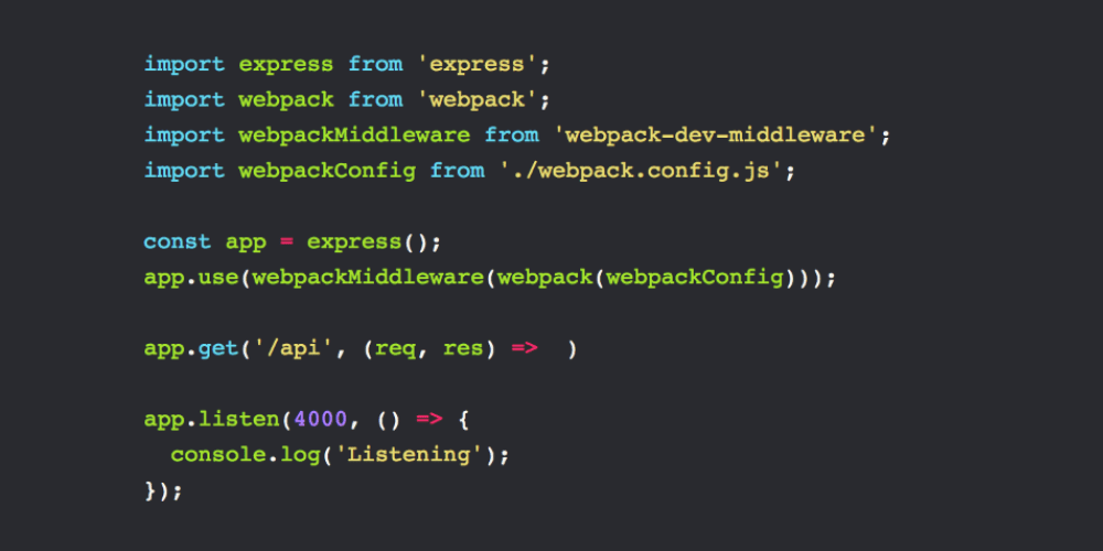 Setting up a minimal Node environment with Webpack and Babel