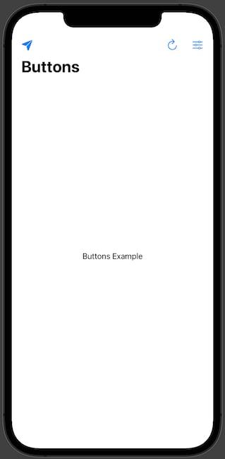 Multiple Buttons NavigationView