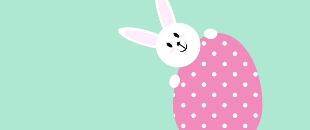 Cover image for A little late this year - Easter Bunny with pure CSS