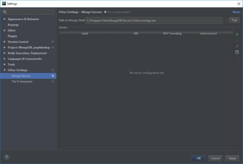 MongoDB Plugin - Initial Setup