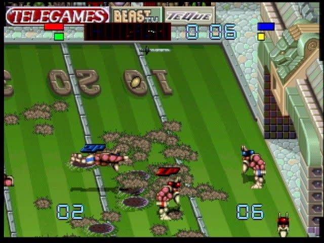Brutal Sports Football (Atari Jaguar — 1993)
