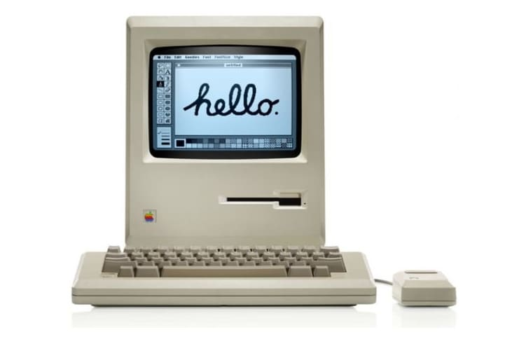 First Mac OS