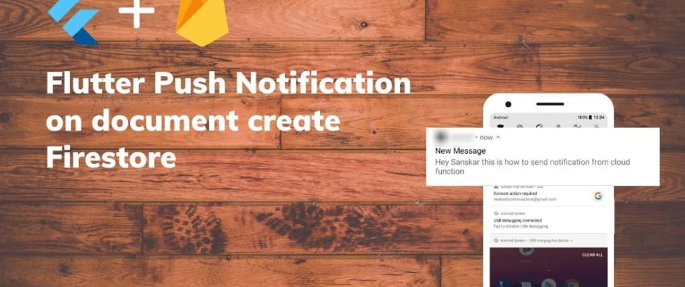 Cover image for Flutter Push Notification on document create Firestore