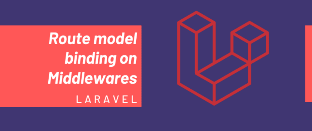 Cover image for Use route model binding on Middlewares in Laravel.