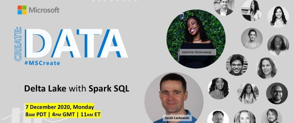 Cover image for Using SQL with Delta Lake [Create: Data]