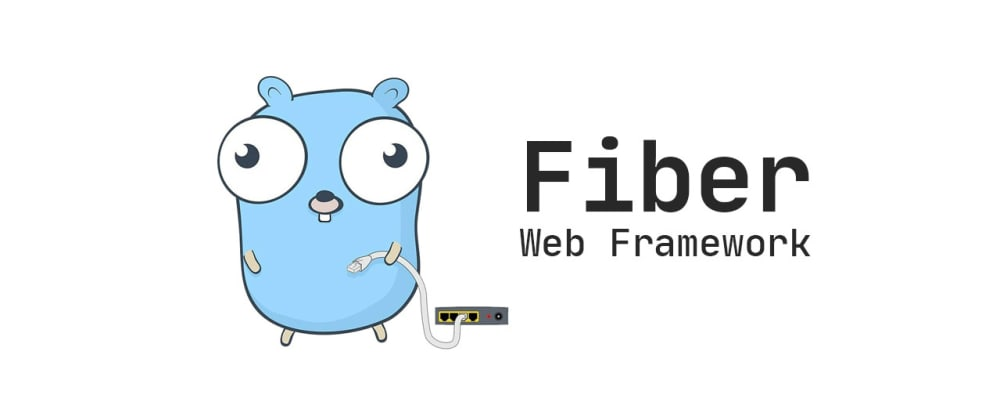 Cover image for Welcome to Fiber — an Express.js styled web framework written in Go with ❤️