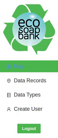 Screenshot of updated nav menu
