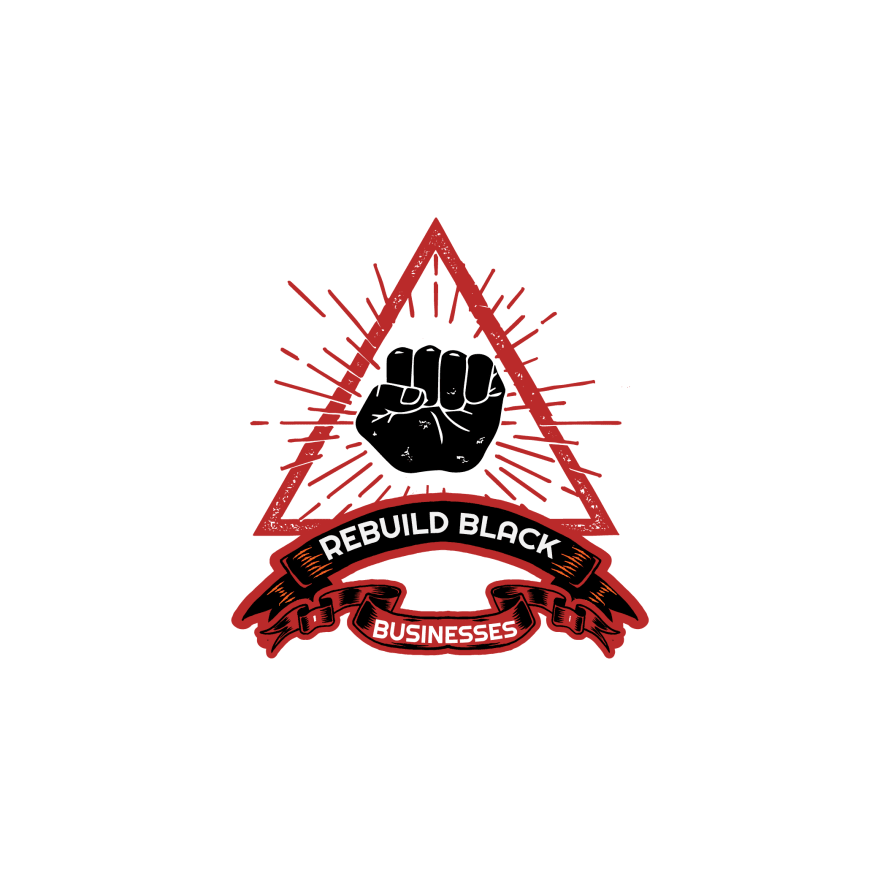 Rebuild Black Business Unreleased Sticker