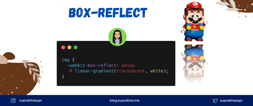 Cover image for CSS Box Reflect