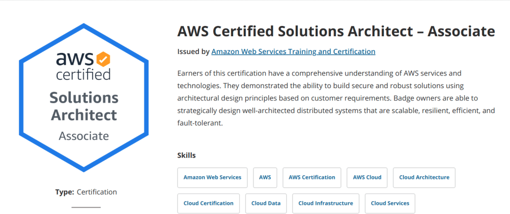 Cover image for Is the AWS Solutions Architect Certification worth it? A review