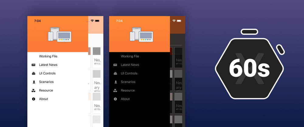 Cover image for Light and Dark Themes in Xamarin.Forms
