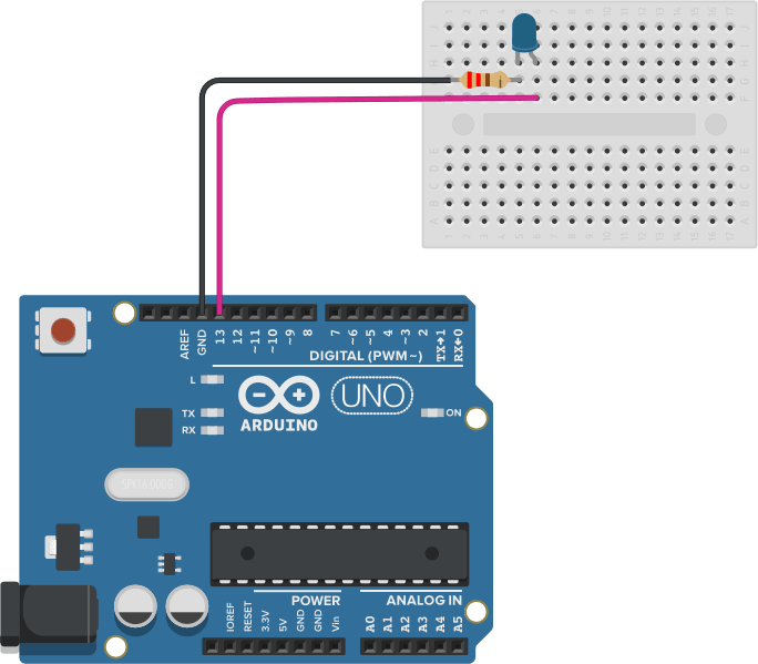 Arduino LED wiring