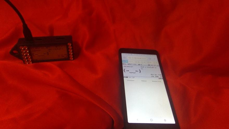 Bluetooth tethering success!