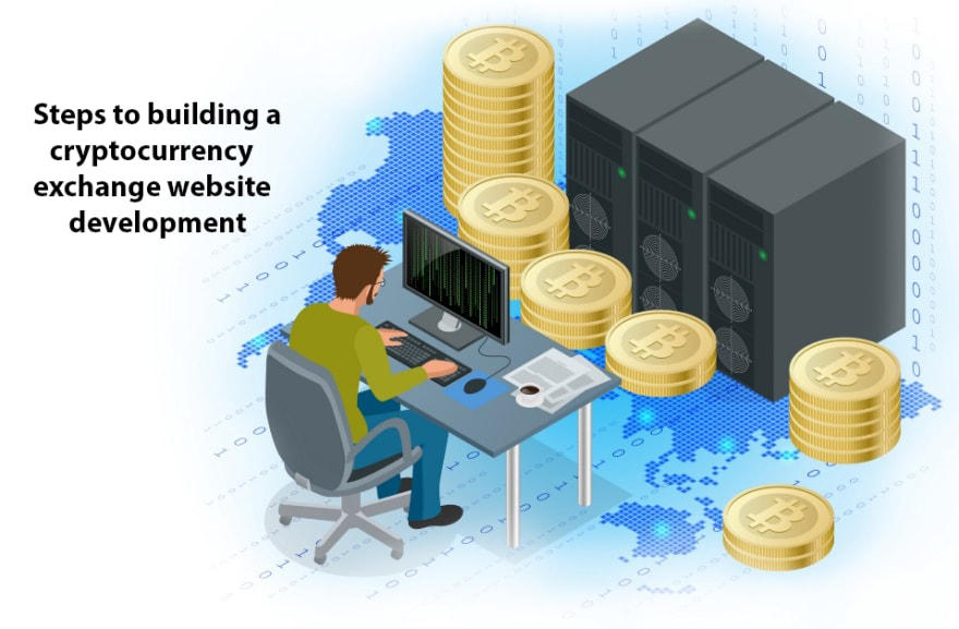 Steps to building a cryptocurrency exchange website development