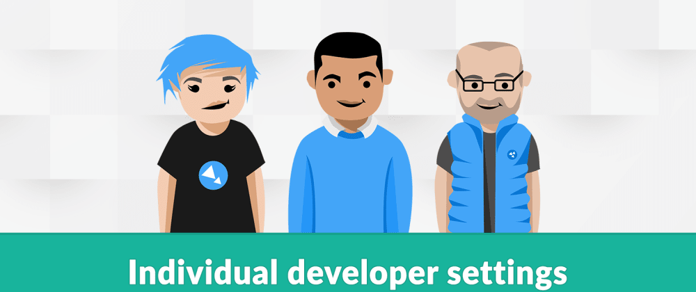 Cover image for Individual developer settings in ASP.NET Core
