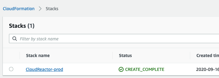 The AWS Setup Wizard utilizes a CloudFormation stack