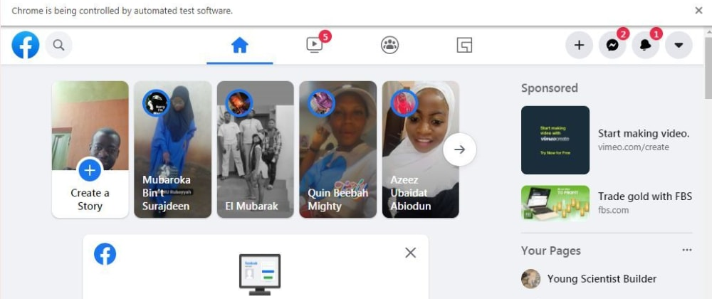 Cover image for Login Facebook using Python