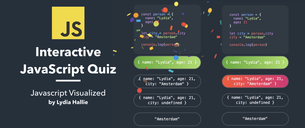 Cover image for ⭐️ Interactive JavaScript Quiz #2
