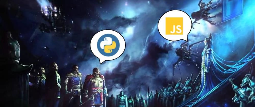 Cover image for Python developer on Javascript land, plus some WH40k fun