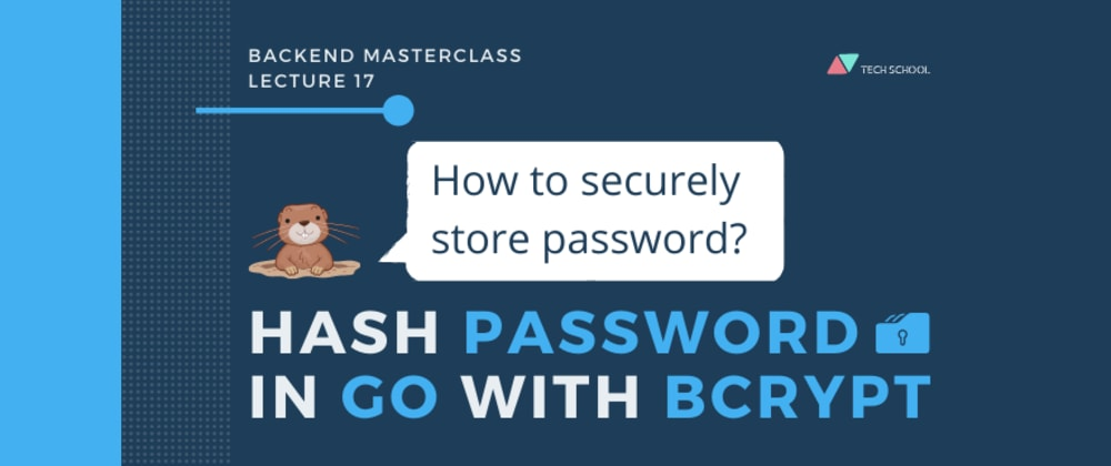 Cover image for How to securely store passwords?