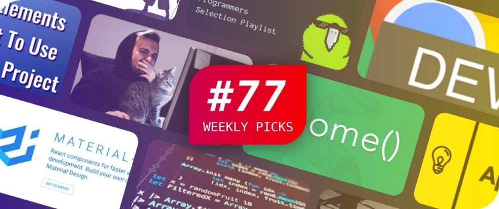 Cover image for Weekly Picks #77 — Development Posts