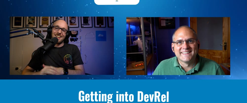 Cover image for Getting into DevRel